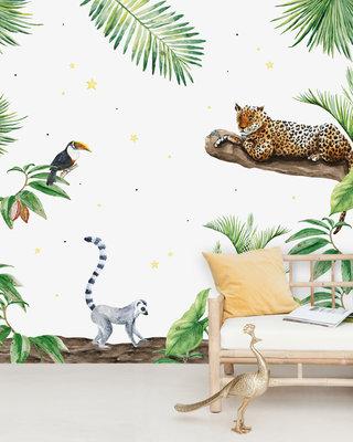 Creative Lab Amsterdam Jungle Tiger Behang