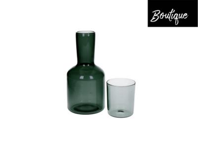Lasi Waterkaraf en Glas Zwart