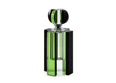 Kristallen Parfumfles Lara Groen