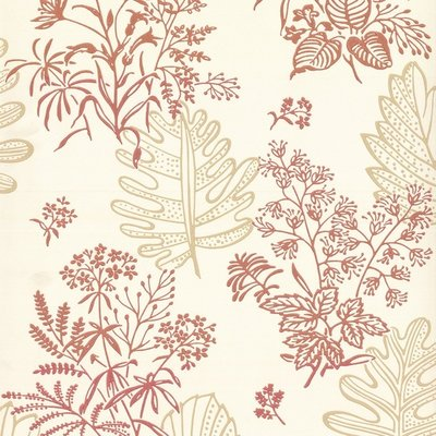 Little Greene Norcombe behang - Jazz