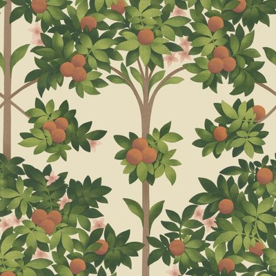 Cole and Son Orange Blossom Behang