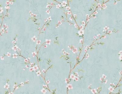SALE: Jaima Brown Spring Blossom Behang