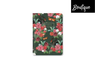 Wild Roses Notebook