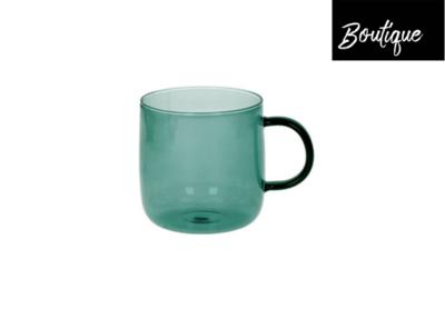 Lasi Espressokopjes Glas GroenBlauw Set 4