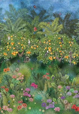 Matthew Williamson Orange Grove Behang