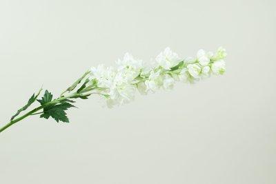 Kunstbloem Ridderspoor (Delphinium) Wit