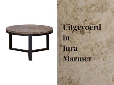 Duran Lucena koffietafel Jura Marmer Ø60 cm