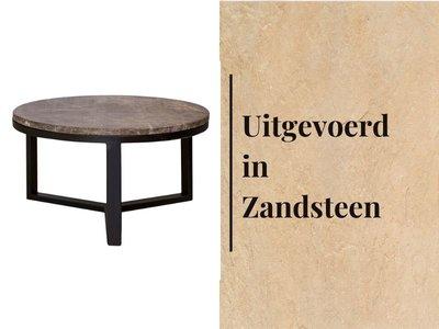 Duran Lucena Koffietafel Ø60 cm Zandsteen