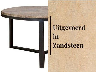 Duran Lucena Salontafel Ø80 cm Zandsteen