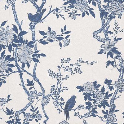 Marlowe Floral 'Porcelain'
