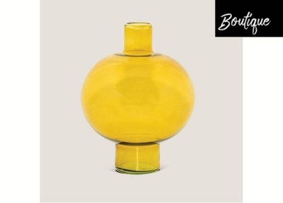 Urban Nature Culture Vaas Gerecycled Glas Amber Green