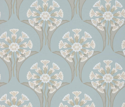 Little Greene Hencroft Celestial Behang