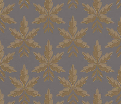 Little Greene Clutterbuck Corinthian Gold Behang