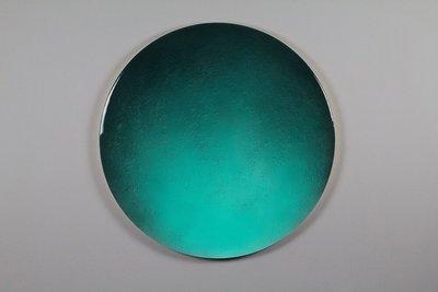 Rond kunstwerk Lost Moments Ø40 cm door Corine van Voorbergen