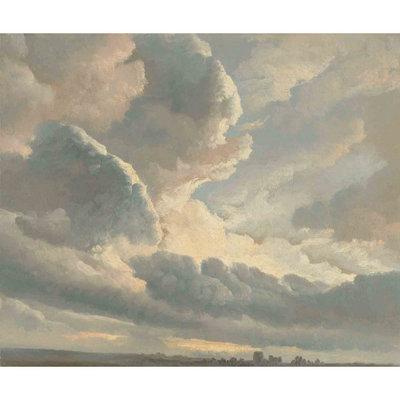Les Dominotiers Sunset Clouds Behang