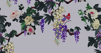 ETRO Secret Garden Behang