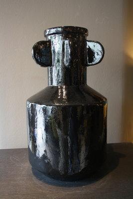 Zwarte Decoratieve Vaas