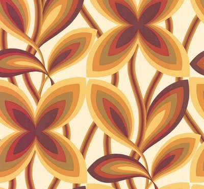 Little Greene Starflower behang - Marigold