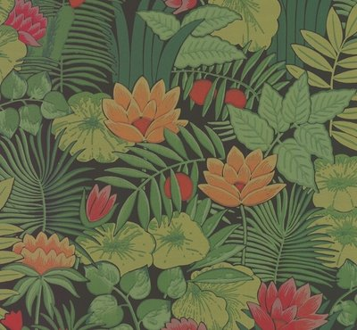 Little Greene Reverie behang - Jungle