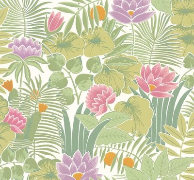 Little Greene Reverie behang - Jardin