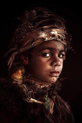 Fotoschilderij De Krijger (The Guardian)