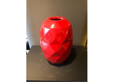 Bosa Ceramiche Rode Vaas Cut