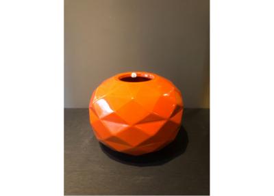 Bosa Ceramiche Oranje Vaas Rond Cut