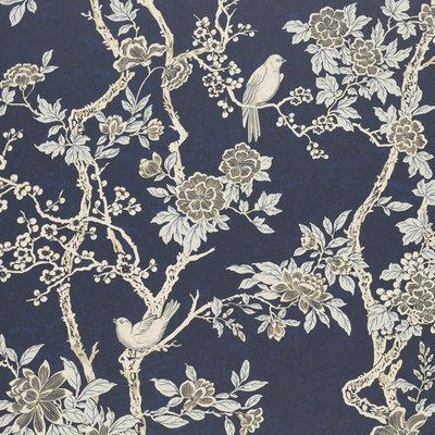 Marlowe Floral 'Prussian Blue'