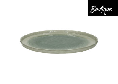 Porcelino Dinner Bord Grey Porselein