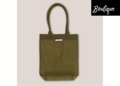 Shopper Recycled Plastic Khaki