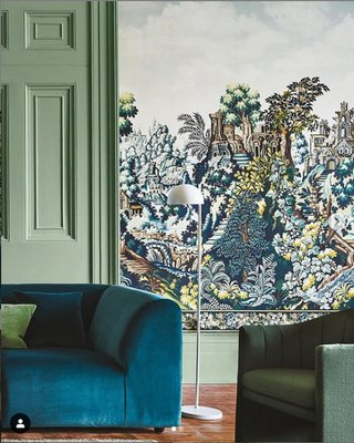 Cole and Son Verdure Tapestry Zijden Behang