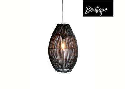 Duran Hanglamp Figura Ellips Medium Black