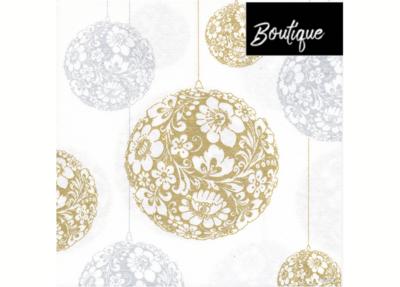 Boule Or Paviot Servet 40 x 40 cm