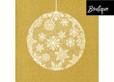 Boule De Noël Or Paviot Servet 40 x 40 cm