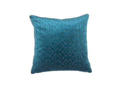 Luxury By Nature Sierkussen Stof Sahco Dalston Blue 60 x 60 cm