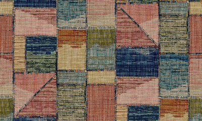 Missoni Home Patchwork Behang
