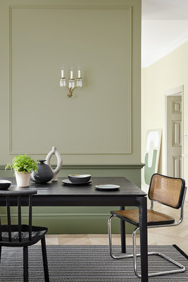Little Greene Book Room Green Verf (322)