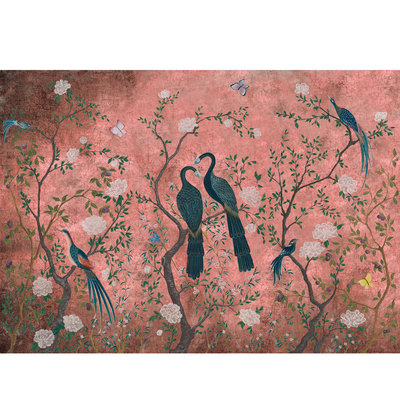 Coordonne Edo Dusty Pink Behang VINYL