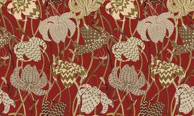 Missoni Home Lilium Behang
