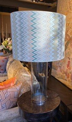 Luxe tafellamp Missoni