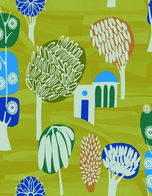 ELITIS Balade en Toscane Behang 02