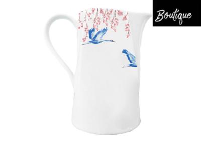 Catchii Schenkkan Kraanvogels Cherry Blossom & Lucky Cranes