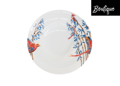 Catchii Pastabord Vogels Bamboo & Singing Birds