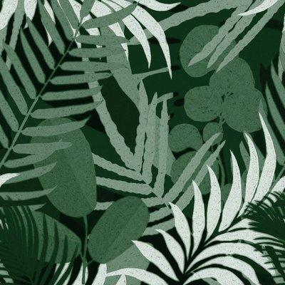 Mind the Gap Jardin Del Sol Green Behang