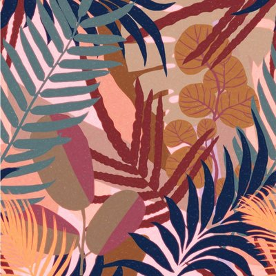 Mind the Gap Jardin Del Sol Multicolour Behang