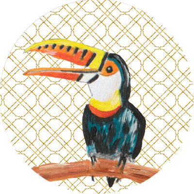 Catchii Toucan Behangcirkel