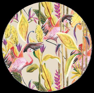 Catchii Jungle Stories Flamingo Behangcirkel
