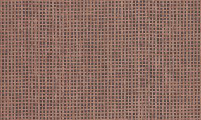 ARTE Waffle Weave Behang - Brick Red