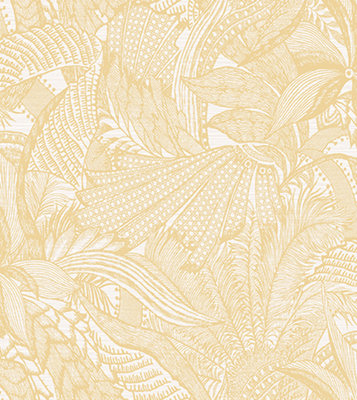 ARTE Symbiosis Behang - White Gold