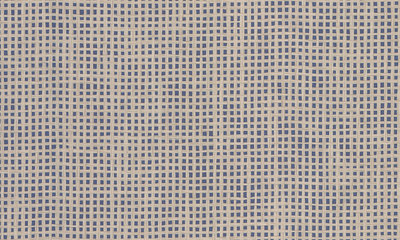 ARTE Waffle Weave Behang - Navy Beige